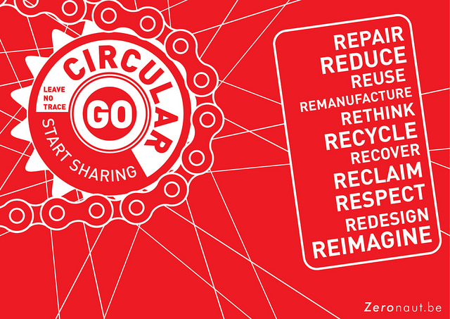 Go Circular! (zeronaut.be)  Zeronaut.be blogs about what it can believe in: the circular economy, the sharing economy, ecological living CC2.0